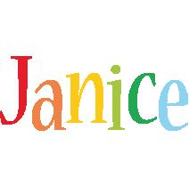Janice birthday logo
