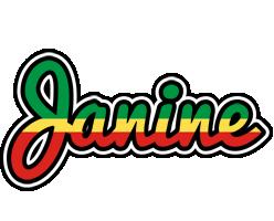 Janine african logo