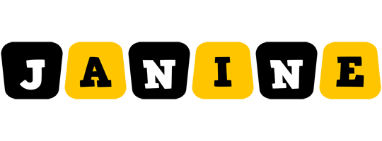 Janine boots logo