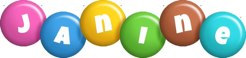 Janine candy logo