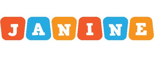 Janine comics logo