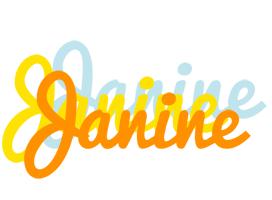 Janine energy logo