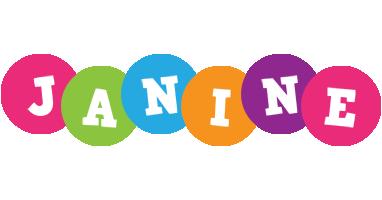 Janine friends logo