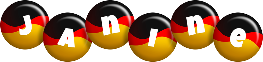Janine german logo