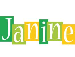 Janine lemonade logo