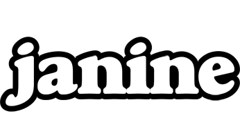 Janine panda logo