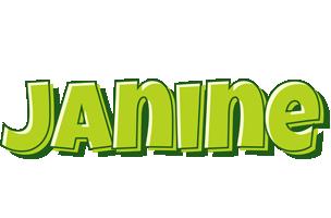 Janine summer logo