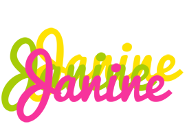 Janine sweets logo