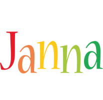 Janna birthday logo