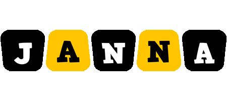 Janna boots logo