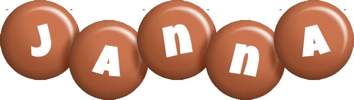 Janna candy-brown logo