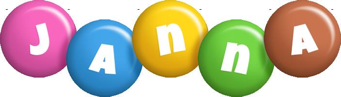 Janna candy logo