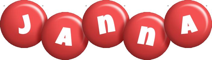 Janna candy-red logo