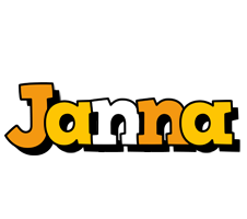 Janna cartoon logo