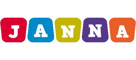 Janna daycare logo