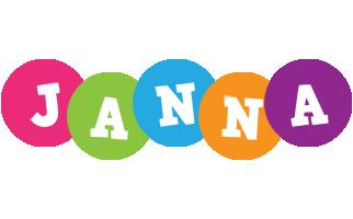 Janna friends logo