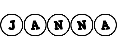 Janna handy logo