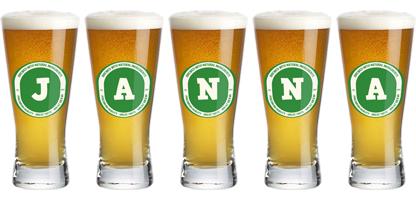 Janna lager logo
