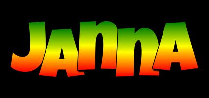 Janna mango logo