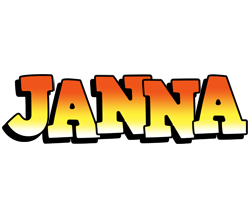 Janna sunset logo