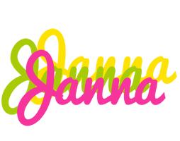 Janna sweets logo