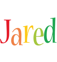 Jared birthday logo