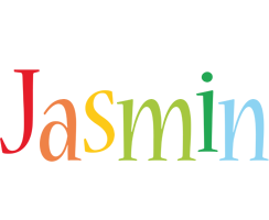 Jasmin birthday logo