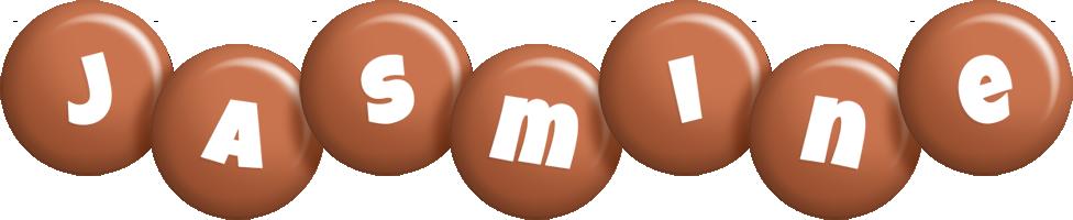 Jasmine candy-brown logo