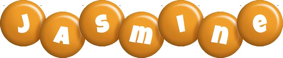 Jasmine candy-orange logo
