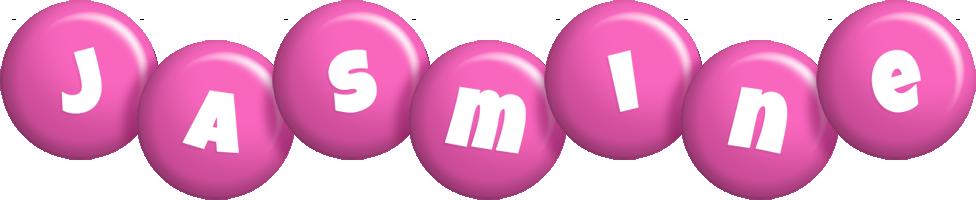 Jasmine candy-pink logo