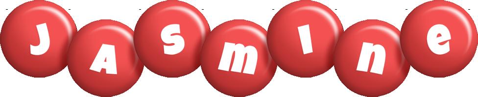 Jasmine candy-red logo