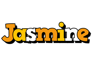 Jasmine cartoon logo