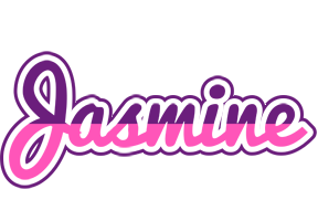 Jasmine cheerful logo
