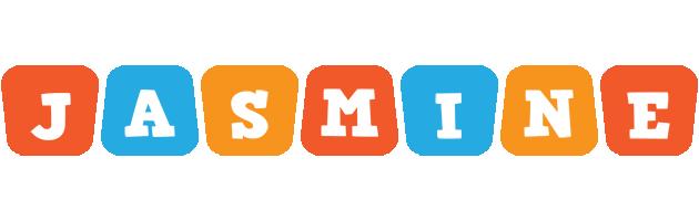 Jasmine comics logo