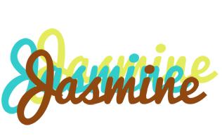 Jasmine cupcake logo