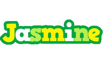 Jasmine soccer logo