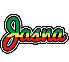 Jasna african logo