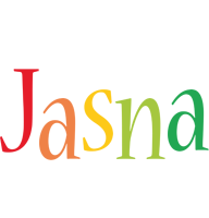 Jasna birthday logo