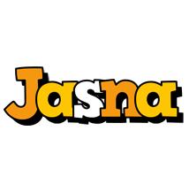 Jasna cartoon logo