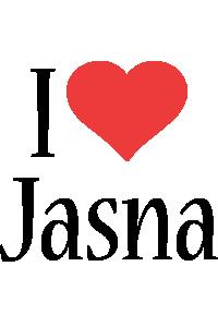 Jasna i-love logo
