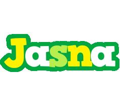 Jasna soccer logo