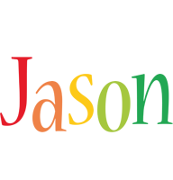 Jason birthday logo