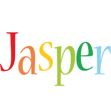 Jasper birthday logo