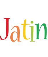 Jatin birthday logo