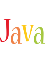 Java birthday logo