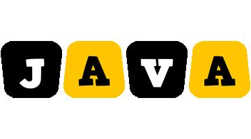 Java boots logo