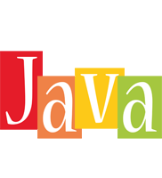 Java colors logo