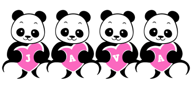 Java love-panda logo
