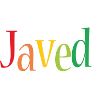 Javed birthday logo