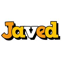 Javed cartoon logo